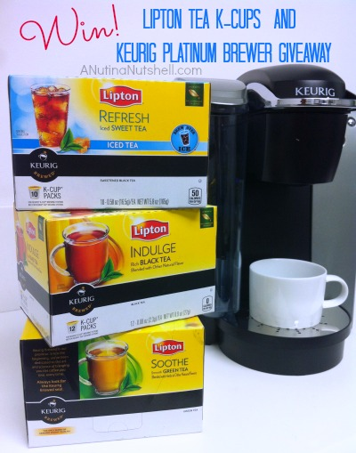Lipton K-cups and Keurig prize pack
