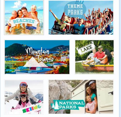 MiniTime vacation theme