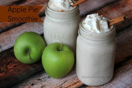 Apple Pie Smoothies