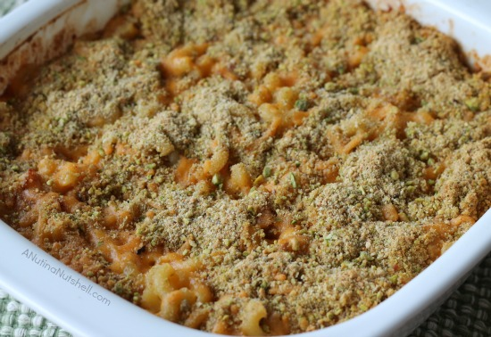 Bacon Pistachio Mac n' Cheese