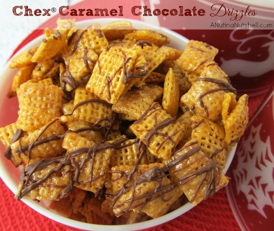 Chex® Caramel Chocolate Drizzles