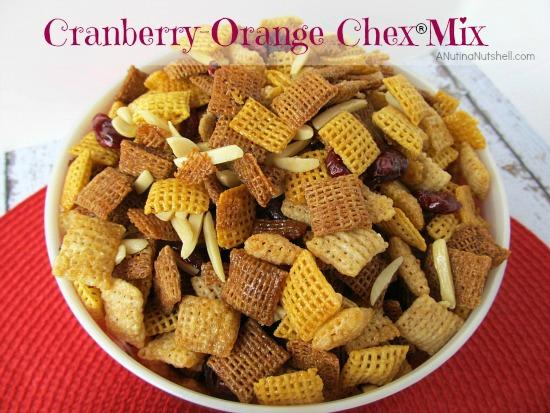 Cranberry Orange Chex® Mix