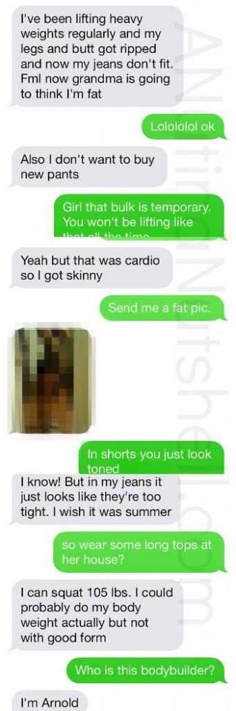 Fight Fat Talk conversation