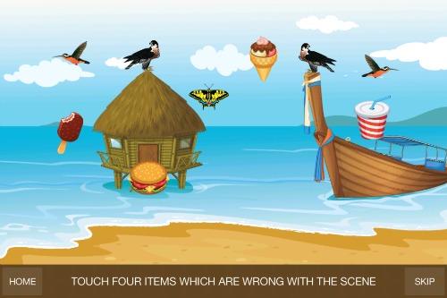 GS Preschool Games-Find Odd Items