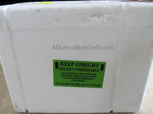 Nolan Ryan All-Natural beef mail order packaging