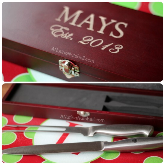 Personal Creations carving set