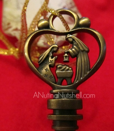 Personal Creations_Christmas key ornament