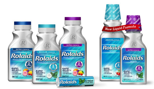 Rolaids product line