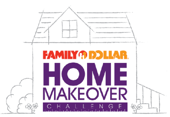 Family Dollar Home Makeover Challenge