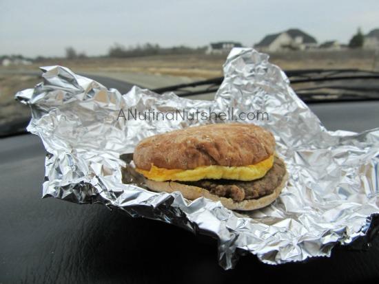Jimmy Dean Delights breakfast on the go