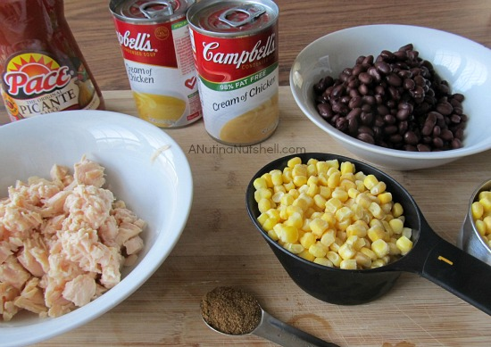 slow cooker chicken tortilla soup ingredients