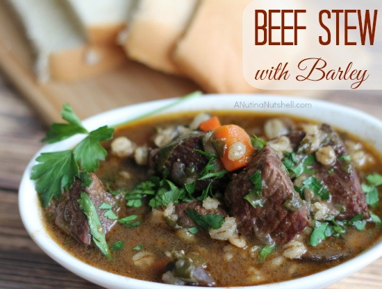 Beef Stew with Barley recipe