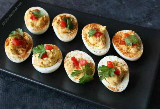 Deviled_eggs_with_ham recipe