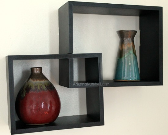 Family Dollar Home Makeover shadow box