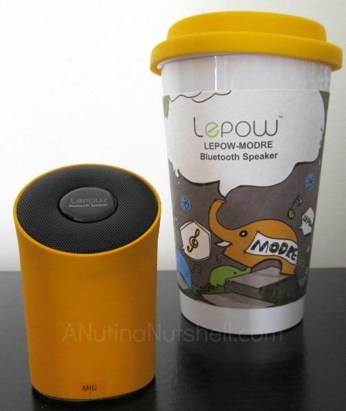 Lepow-Modre bluetooth speaker