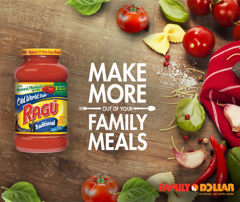 Ragu Make More Out of Your Family Meals