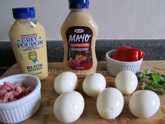 deviled eggs recipe ingredients