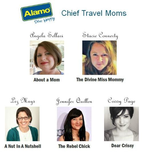 Alamo Chief Travel Moms