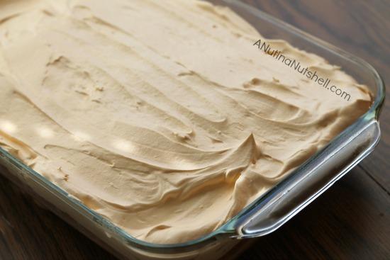 MilkSplash orange poke cake