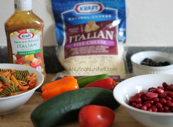Tuscan House Italian Pasta Salad ingredients