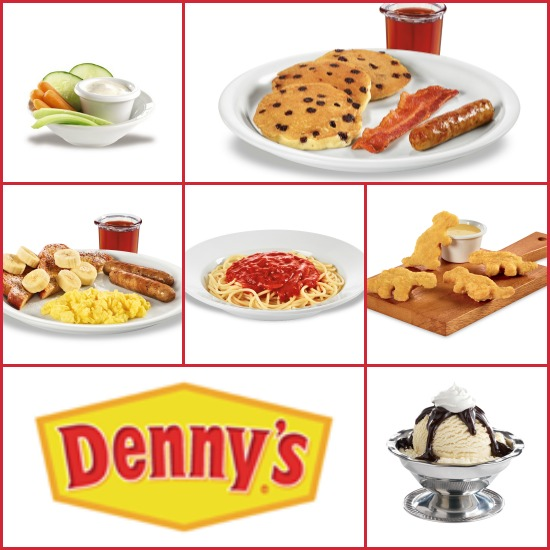 Denny's Kids Menu - adventure menu
