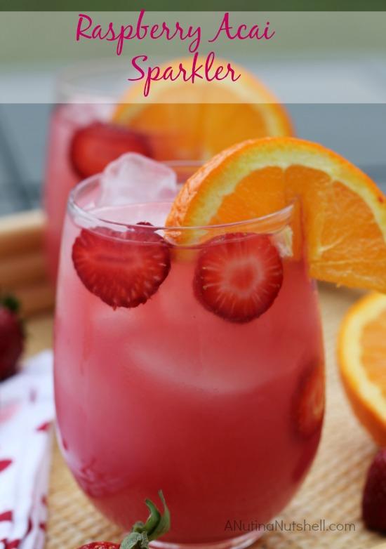 Raspberry Acai Sparkler