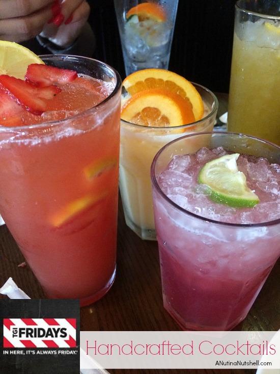 TGI Fridays handcrafted cocktails