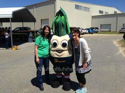 Vidalia Onion Farm Tour - me and Julie