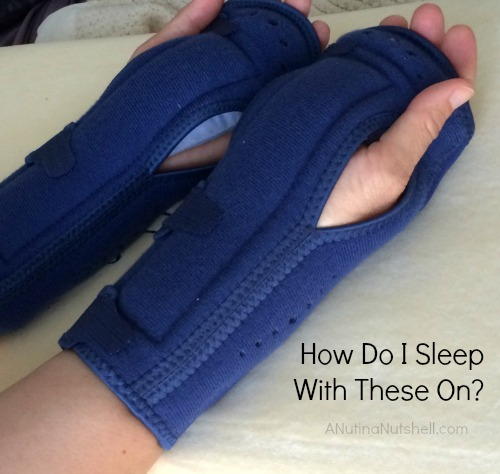 carpal tunnel syndrome-night wrist support braces