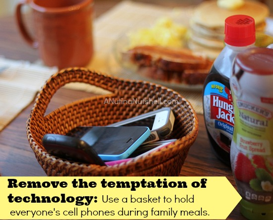 remove temptation of technology tip