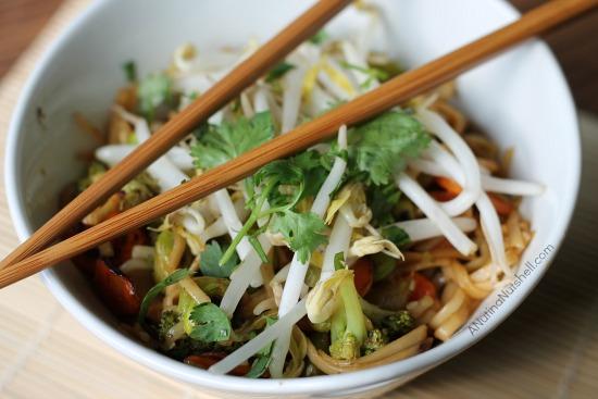 Asian pan noodles