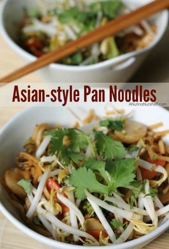 Asian-style Pan Noodles