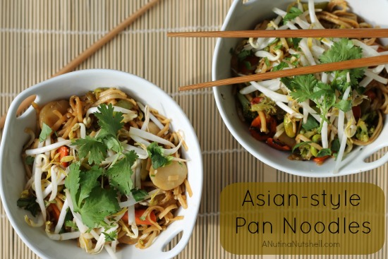 Asian-style pan noodles recipe