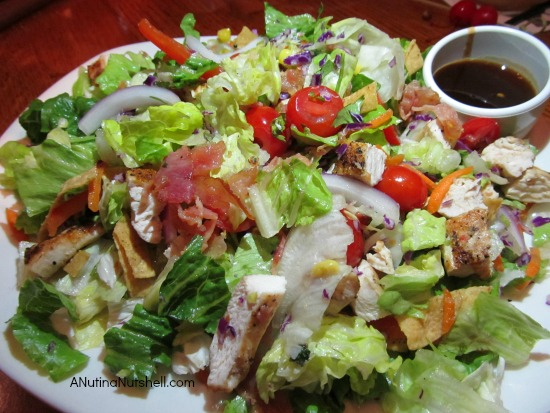 Moonshine BBQ Chopped Salad - Outback Steakhouse