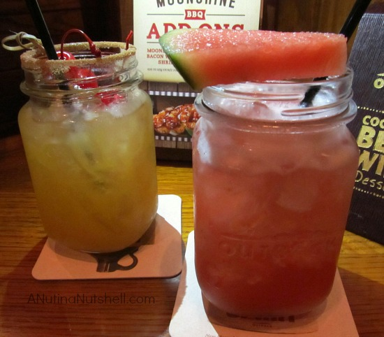 Moonshine Cocktails at Outback Steakhouse