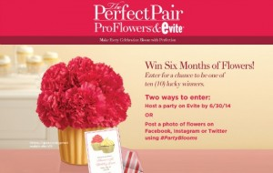 Perfect Pair ProFlowers - Evite