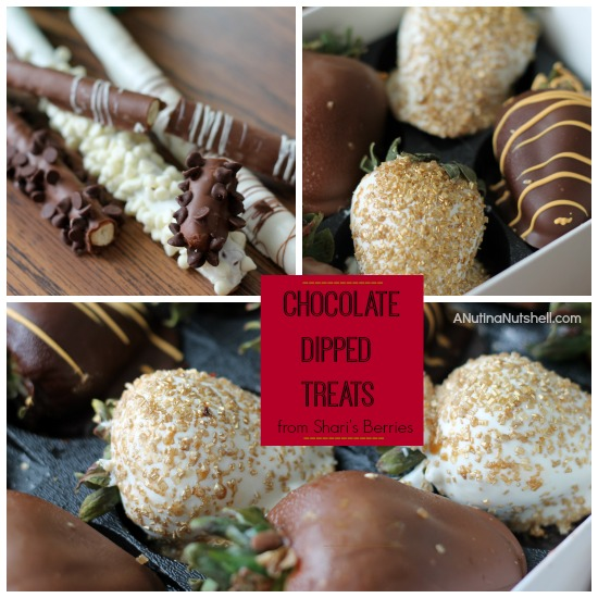 chocolate dipped treats - Shari's Berries