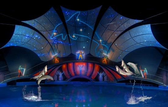 Georgia Aquarium - Dolphin Tales show