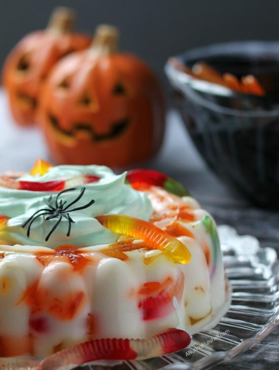 Halloween JELL-O recipe