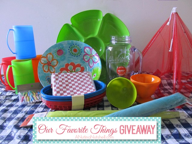 Our Favorite Things Giveaway - summer prize pack