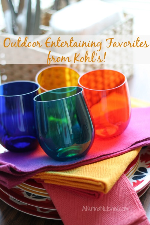 Outdoor Entertaining favorites from Kohl's