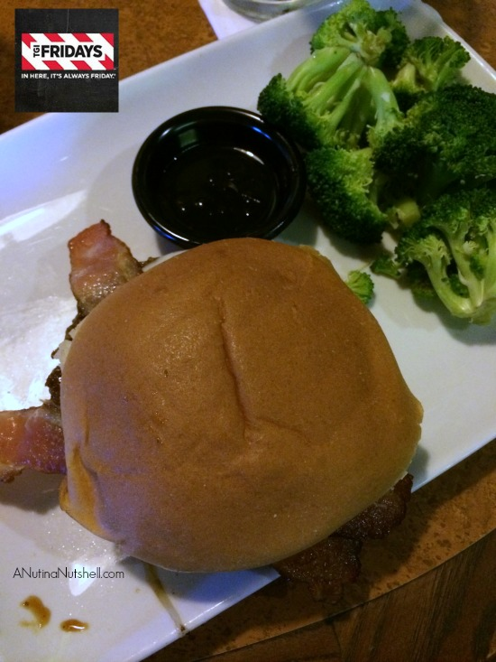 TGI Fridays Jack Daniels Burger