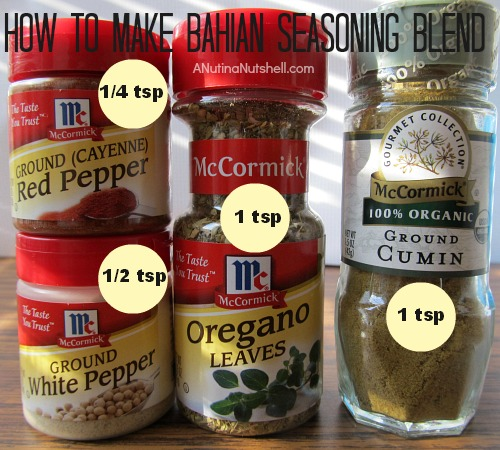 how to make Bahian seasoning blend