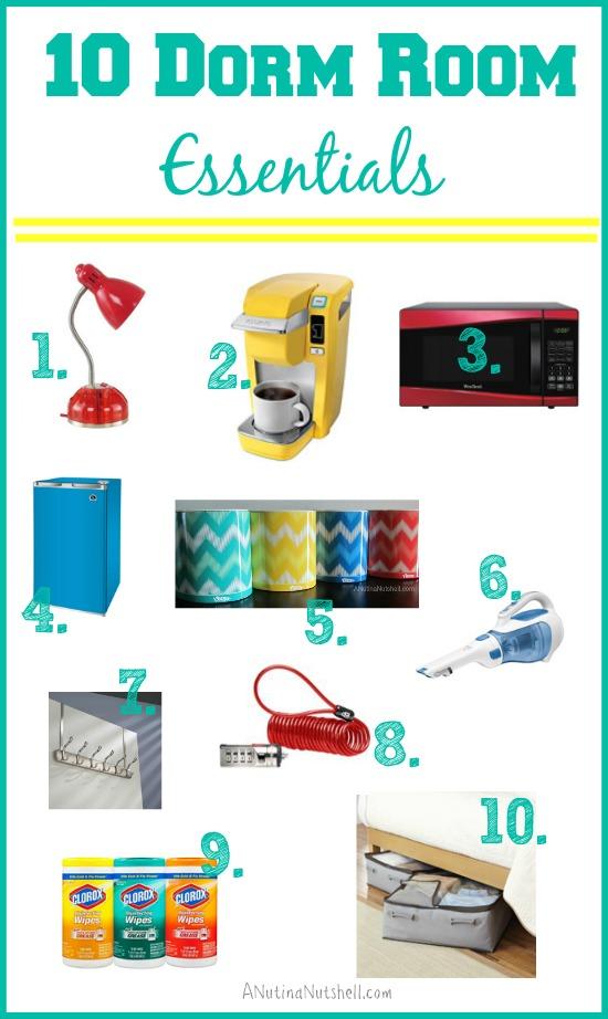 10 Dorm Room Essentials