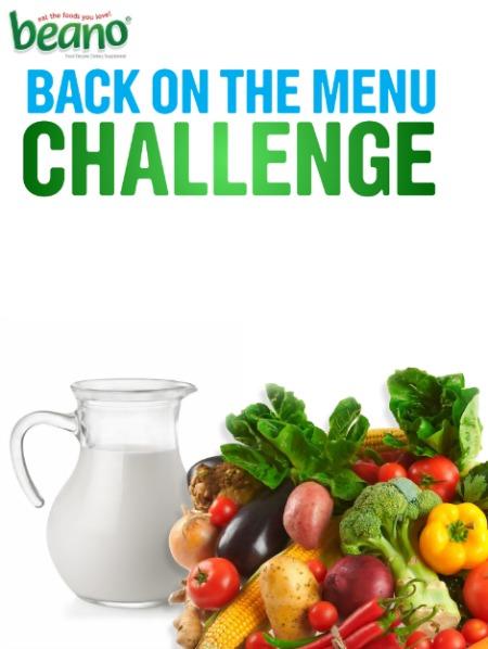 Beano Back on the Menu Challenge