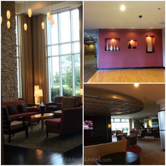 Cambria Suites hotel lobby