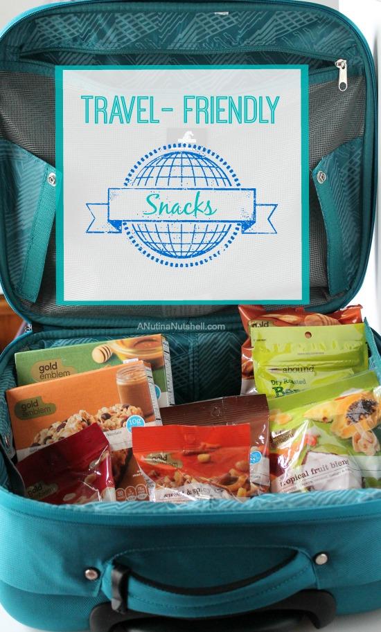 Travel-friendly snacks