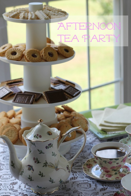 Afternoon Tea Party (with cookies)
