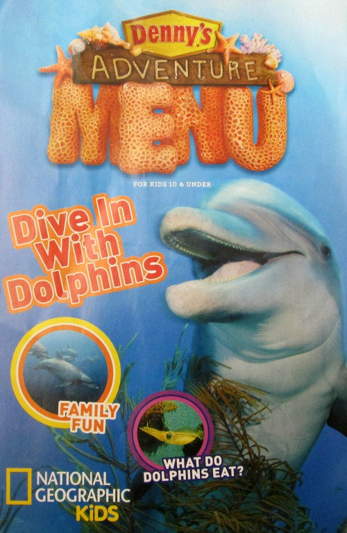 Denny's Adventure menu
