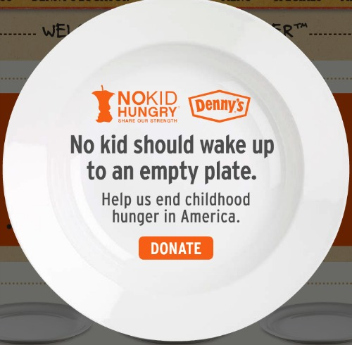 Denny's NoKidHungry